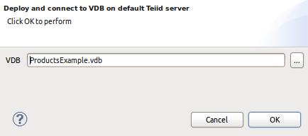 Execute VDB Dialog
