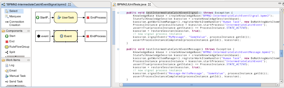 jbpm screenshot wait state examples.png