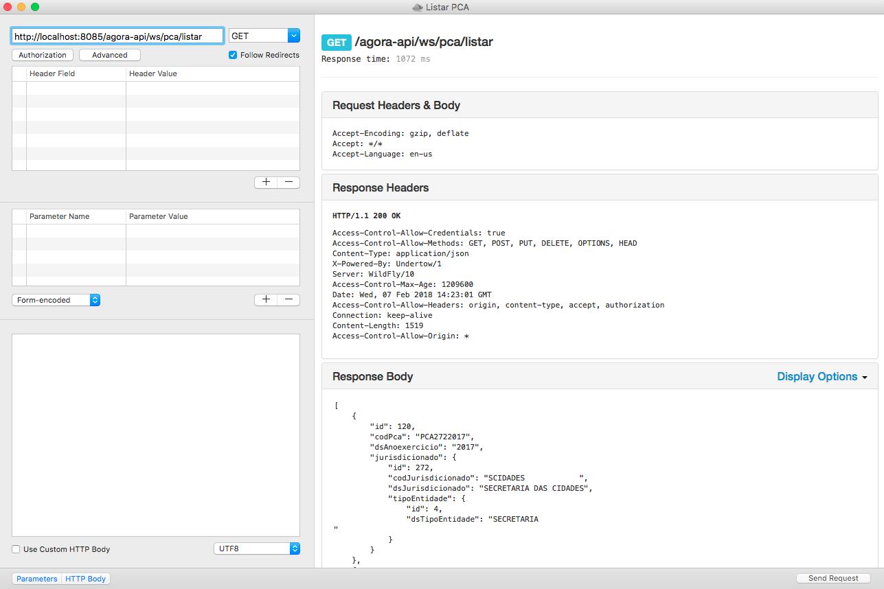 Application running